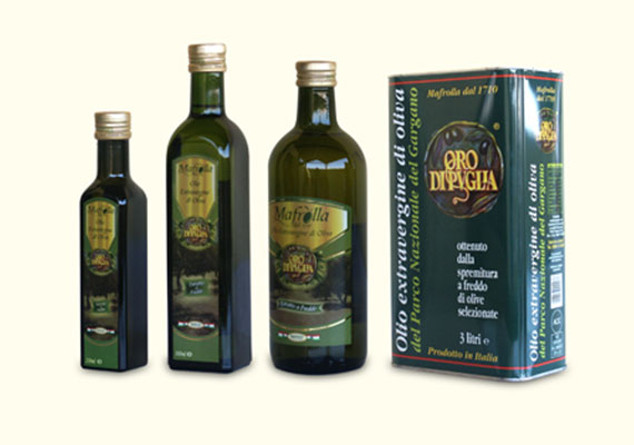 Products - Olio Mafrolla